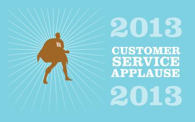 2013 Customer Service Applause