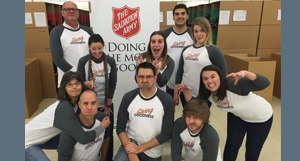 R+M Launches Giving Goodness Movement at The Salvation Army