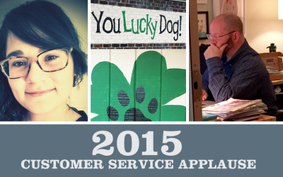 2015 Customer Service Applause