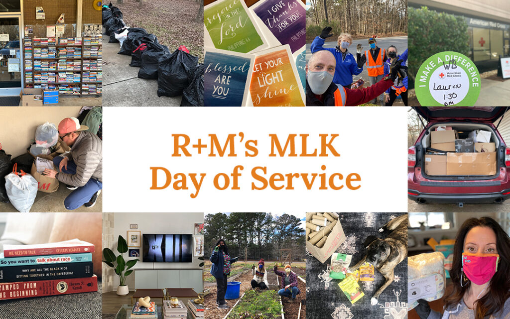 R+M's MLK Day of Service